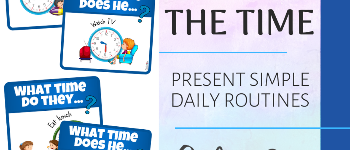 Telling the time post