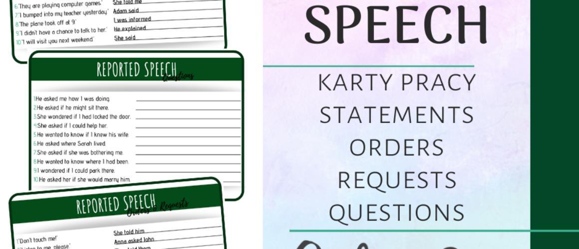 reported speech post