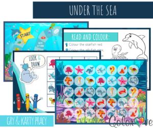 Under the Sea - zestaw materiałów