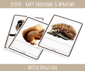 Autumn - Karty obrazkowe PDF