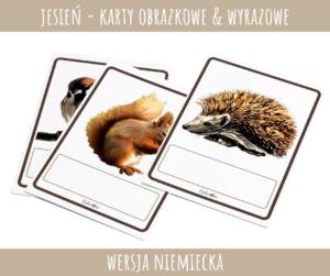 Der Herbst - Karty obrazkowe PDF