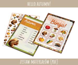 Autumn - zestaw materiałów PDF