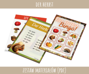 Der Herbst - Zestaw materiałów PDF