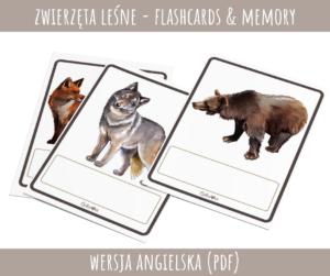 Zwierzęta leśne (PDF) - wersja angielska