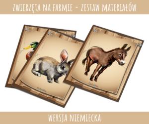 Zwierzęta na farmie - wersja niemiecka (PDF)