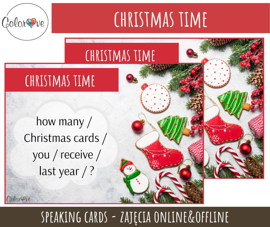 Christmas Speaking post