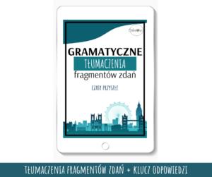 Gramatyczne Tłumaczenia - Czasy przyszłe